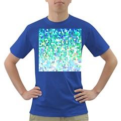 Mosaic Sparkley 1 Dark T Shirt by MedusArt