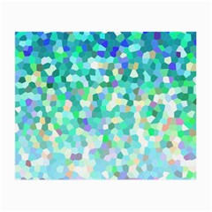 Mosaic Sparkley 1 Small Glasses Cloth by MedusArt