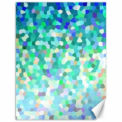 Mosaic Sparkley 1 Canvas 12  X 16   by MedusArt
