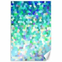 Mosaic Sparkley 1 Canvas 24  X 36  by MedusArt