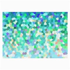 Mosaic Sparkley 1 Large Glasses Cloth (2 Side) by MedusArt