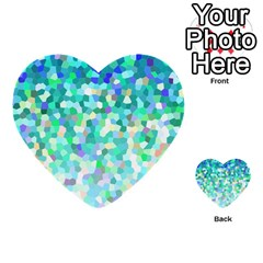 Mosaic Sparkley 1 Multi-purpose Cards (Heart)