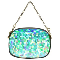 Mosaic Sparkley 1 Chain Purses (two Sides)  by MedusArt