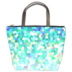 Mosaic Sparkley 1 Bucket Bags by MedusArt