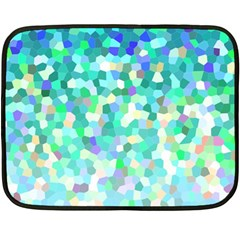 Mosaic Sparkley 1 Double Sided Fleece Blanket (mini)  by MedusArt