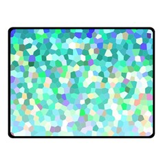 Mosaic Sparkley 1 Fleece Blanket (small) by MedusArt