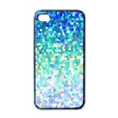 Mosaic Sparkley 1 Apple Iphone 4 Case (black) by MedusArt