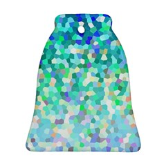 Mosaic Sparkley 1 Bell Ornament (2 Sides) by MedusArt