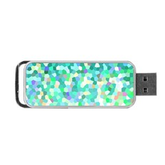 Mosaic Sparkley 1 Portable Usb Flash (two Sides) by MedusArt