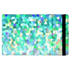 Mosaic Sparkley 1 Apple Ipad 2 Flip Case by MedusArt