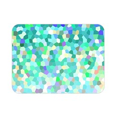 Mosaic Sparkley 1 Double Sided Flano Blanket (mini)  by MedusArt