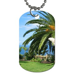 Sunny Tenerife Dog Tag (two Sides) by MoreColorsinLife
