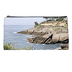Tenerife,painted Version Pencil Cases by MoreColorsinLife
