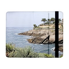 Tenerife,painted Version Samsung Galaxy Tab Pro 8.4  Flip Case by MoreColorsinLife