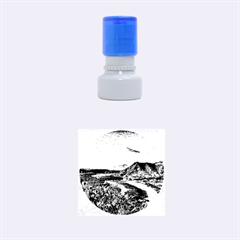 Tenerife 12 Effect Rubber Round Stamps (small)