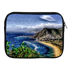 Tenerife 12 Effect Apple iPad 2/3/4 Zipper Cases by MoreColorsinLife