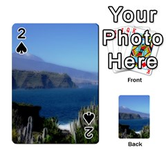 Panted Landscape Tenerife Playing Cards 54 Designs