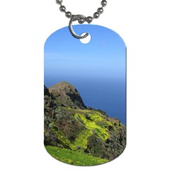 Tenerife 09 Dog Tag (one Side) by MoreColorsinLife