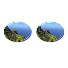 Tenerife 09 Cufflinks (oval) by MoreColorsinLife