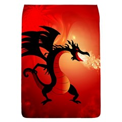 Funny, Cute Dragon With Fire Flap Covers (s)  by FantasyWorld7