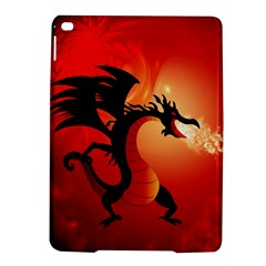 Funny, Cute Dragon With Fire Ipad Air 2 Hardshell Cases by FantasyWorld7