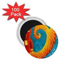 Capricorn Zodiac Sign 1 75  Magnets (100 Pack)  by julienicholls