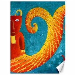 Capricorn Zodiac Sign Canvas 36  X 48   by julienicholls