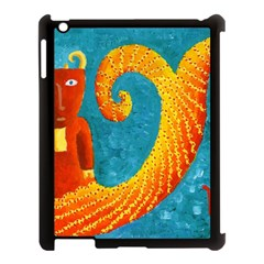 Capricorn Zodiac Sign Apple iPad 3/4 Case (Black) by julienicholls