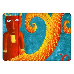 Capricorn Zodiac Sign Samsung Galaxy Tab 8 9  P7300 Flip Case by julienicholls