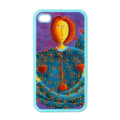 Libra Zodiac Sign Apple Iphone 4 Case (color) by julienicholls