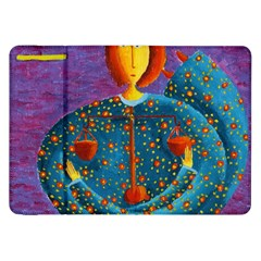 Libra Zodiac Sign Samsung Galaxy Tab 8 9  P7300 Flip Case by julienicholls