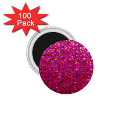 Polka Dot Sparkley Jewels 1 1 75  Magnets (100 Pack)  by MedusArt