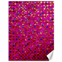 Polka Dot Sparkley Jewels 1 Canvas 36  X 48   by MedusArt