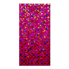 Polka Dot Sparkley Jewels 1 Shower Curtain 36  X 72  (stall)  by MedusArt