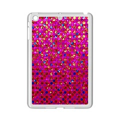 Polka Dot Sparkley Jewels 1 Ipad Mini 2 Enamel Coated Cases by MedusArt