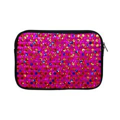 Polka Dot Sparkley Jewels 1 Apple iPad Mini Zipper Cases by MedusArt