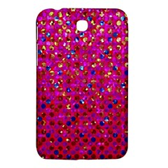 Polka Dot Sparkley Jewels 1 Samsung Galaxy Tab 3 (7 ) P3200 Hardshell Case  by MedusArt