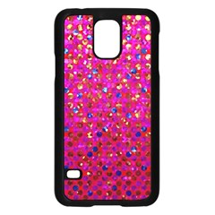 Polka Dot Sparkley Jewels 1 Samsung Galaxy S5 Case (black) by MedusArt