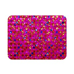 Polka Dot Sparkley Jewels 1 Double Sided Flano Blanket (mini)  by MedusArt