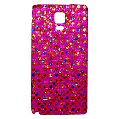 Polka Dot Sparkley Jewels 1 Galaxy Note 4 Back Case by MedusArt