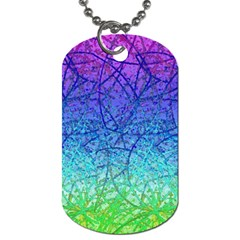 Grunge Art Abstract G57 Dog Tag (two Sides) by MedusArt