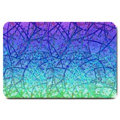 Grunge Art Abstract G57 Large Doormat  by MedusArt