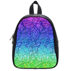 Grunge Art Abstract G57 School Bags (small)  by MedusArt
