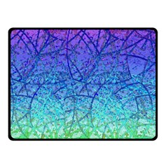 Grunge Art Abstract G57 Fleece Blanket (small) by MedusArt