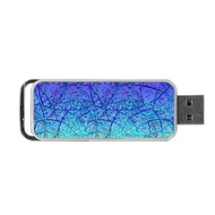 Grunge Art Abstract G57 Portable Usb Flash (one Side) by MedusArt