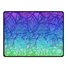 Grunge Art Abstract G57 Double Sided Fleece Blanket (small)  by MedusArt