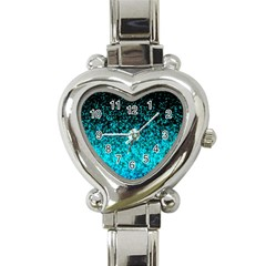 Glitter Dust G162 Heart Italian Charm Watch by MedusArt