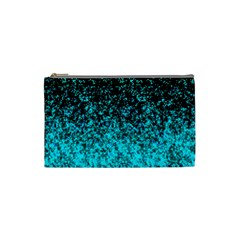 Glitter Dust G162 Cosmetic Bag (small)  by MedusArt