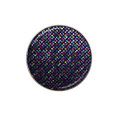 Polka Dot Sparkley Jewels 2 Hat Clip Ball Marker (4 Pack) by MedusArt