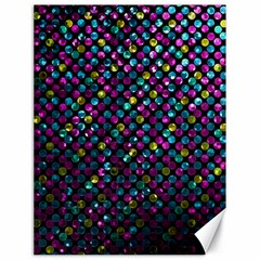 Polka Dot Sparkley Jewels 2 Canvas 18  X 24   by MedusArt